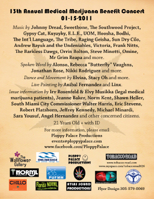 Florida - Event, 13TH ANNUAL MEDICAL MARIJUANA BENEFIT CONCERT