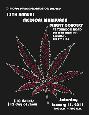 Florida - Event, ANNUAL MEDICAL MARIJUANA BENEFIT CONCERT